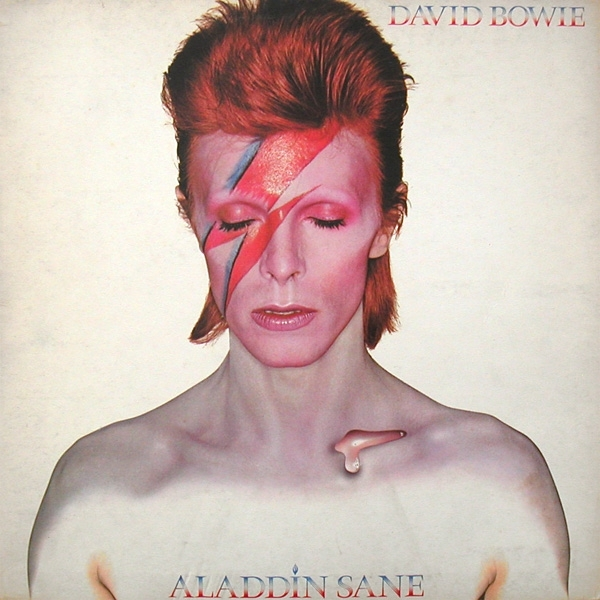 David Bowie Aladdin Sane cover art