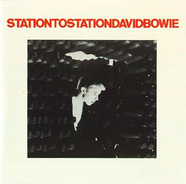 David Bowie Station to Station cover art