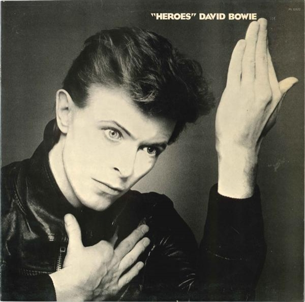 "David Bowie ""Heroes"" cover art"