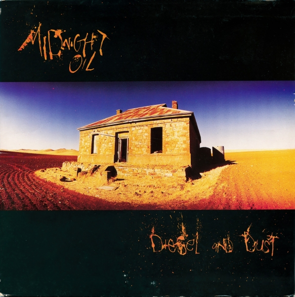 Midnight Oil Diesel and Dust cover art