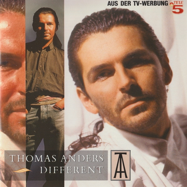 Thomas Anders Different Cover Art