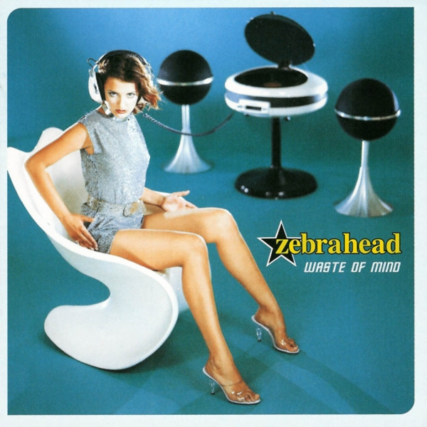 Zebrahead Waste of Mind cover art