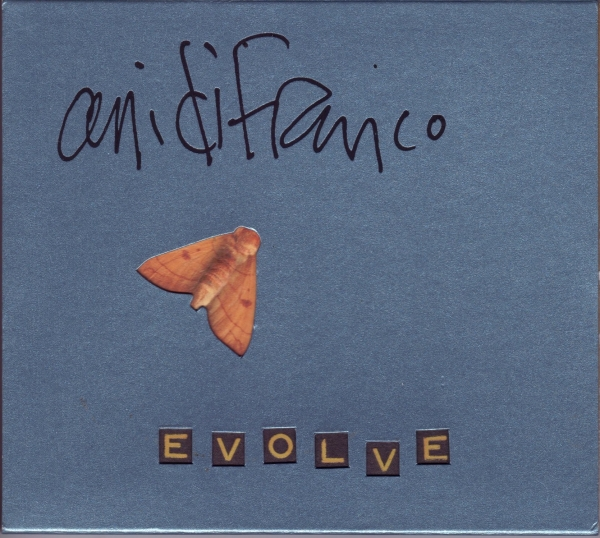 Ani DiFranco Evolve cover art
