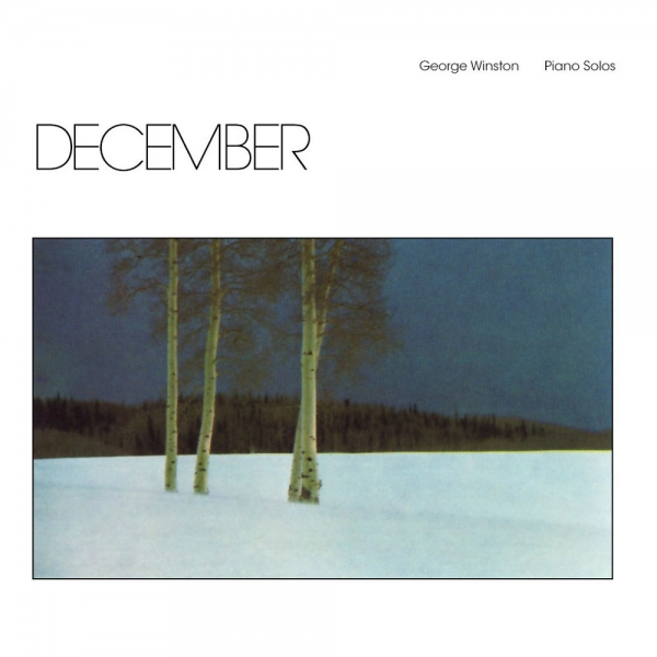George Winston December Cover Art