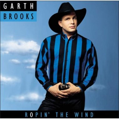Garth Brooks Ropin' the Wind cover art