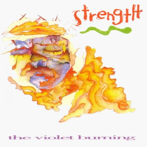 The Violet Burning Strength Cover Art