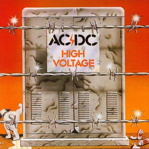 AC/DC High Voltage cover art