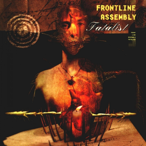Front Line Assembly Fatalist Cover Art
