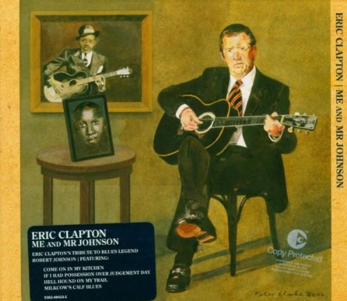 Eric Clapton Me and Mr Johnson cover art