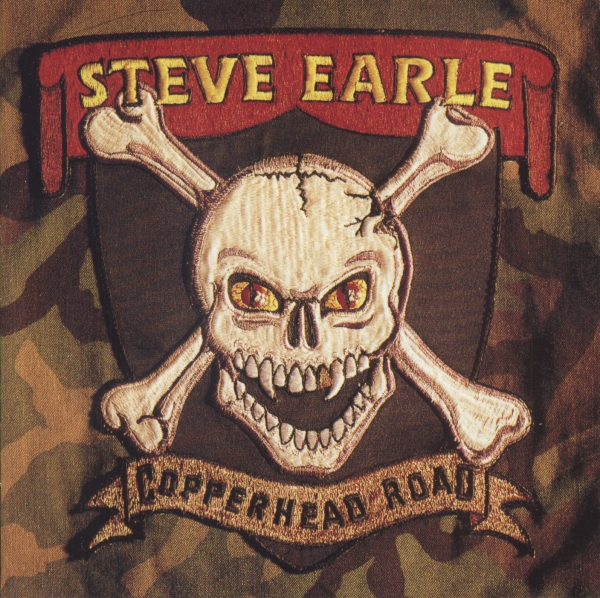 Steve Earle Copperhead Road Cover Art
