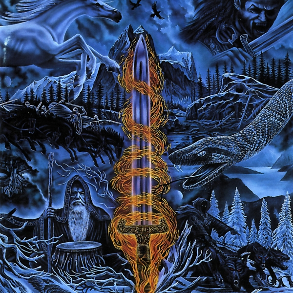 Bathory Blood on Ice cover art