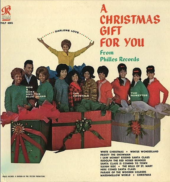 The Ronettes A Christmas Gift for You From Phil Spector cover art