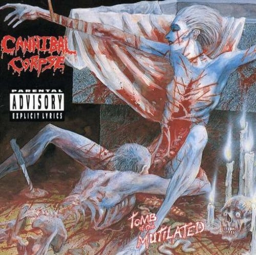 Cannibal Corpse Tomb of the Mutilated cover art