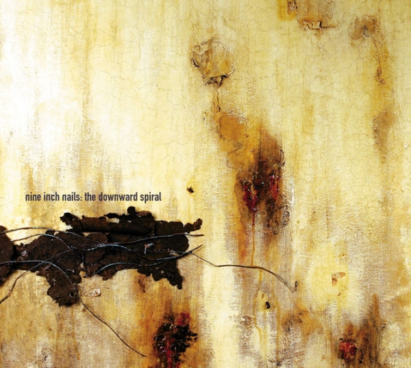 Nine Inch Nails The Downward Spiral cover art