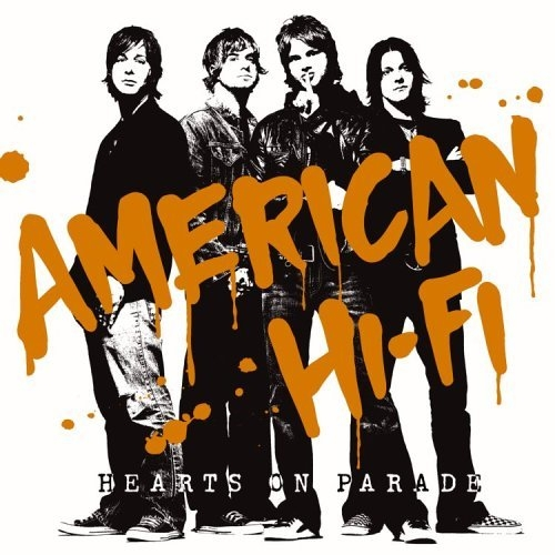 American Hi-Fi Hearts on Parade Cover Art