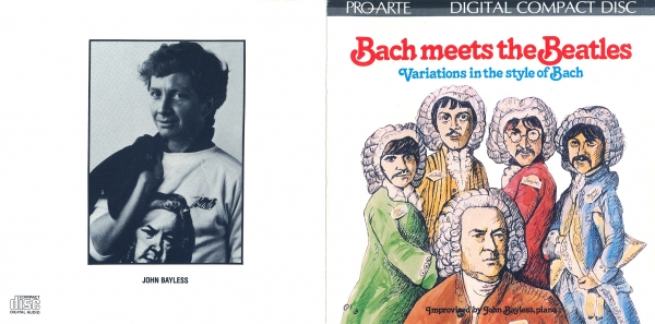 John Bayless Bach Meets the Beatles Cover Art