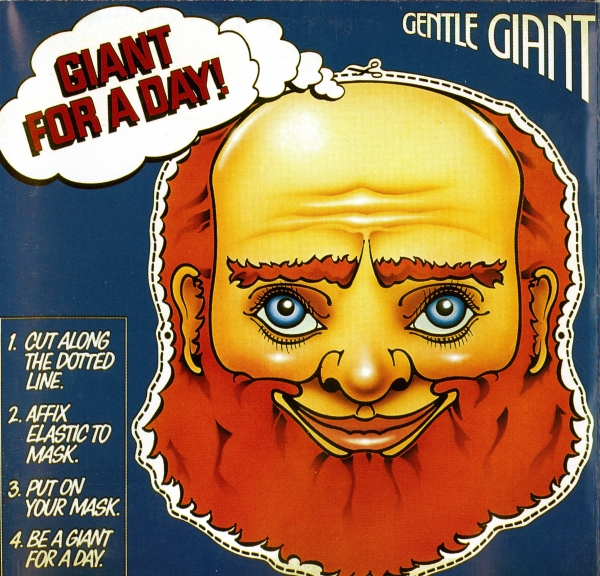 Gentle Giant Giant for a Day Cover Art