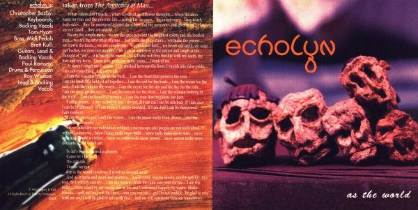 Echolyn As the World cover art
