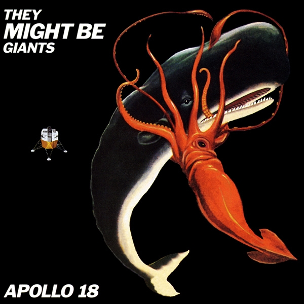 They Might Be Giants Apollo 18 cover art