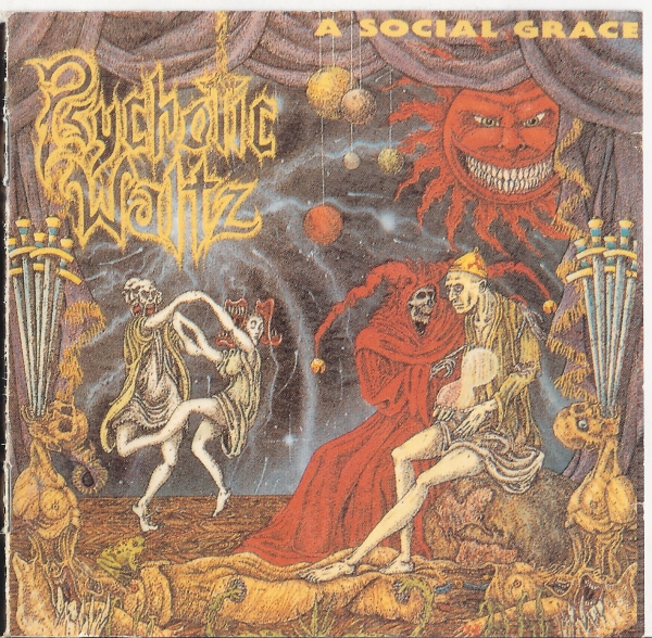Psychotic Waltz A Social Grace cover art