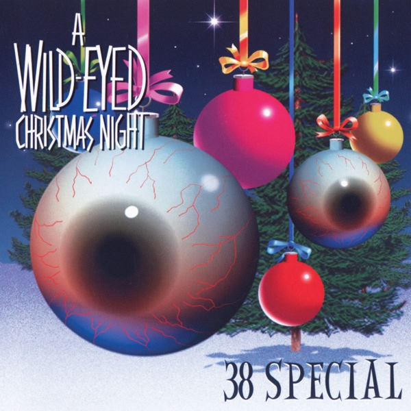 38 Special A Wild-Eyed Christmas Night Cover Art