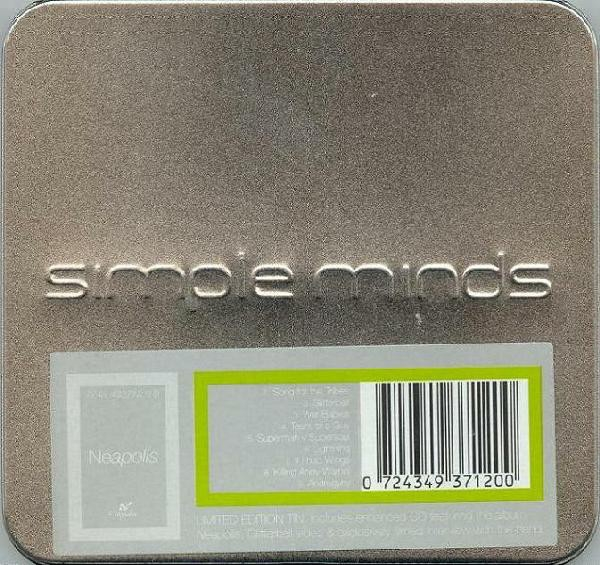 Simple Minds Néapolis cover art