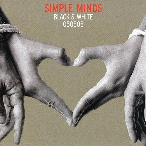 Simple Minds Black & White 050505 cover art