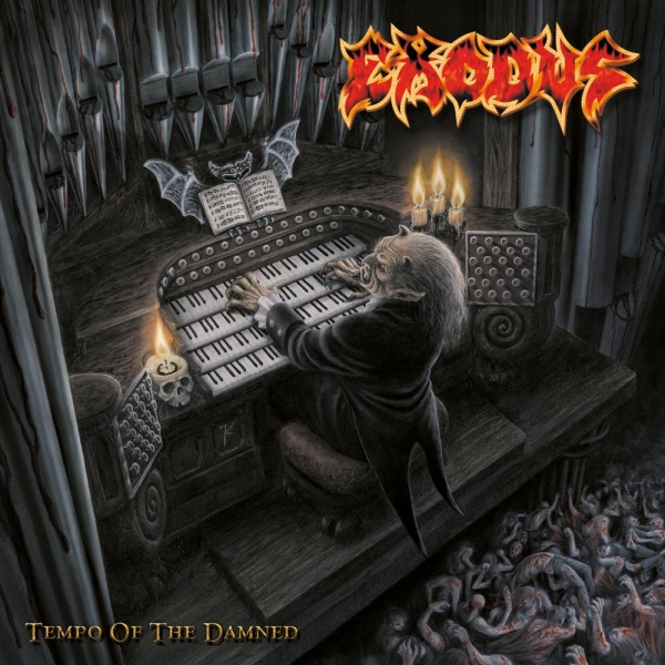 Exodus Tempo of the Damned Cover Art