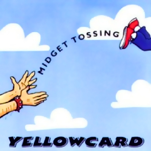 Yellowcard Midget Tossing Cover Art
