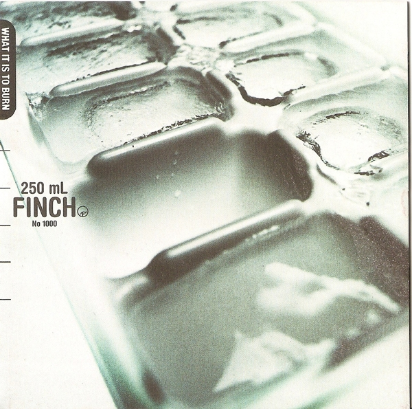 Finch What It Is to Burn cover art