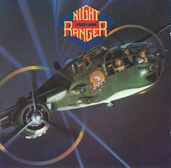 Night Ranger 7 Wishes Cover Art