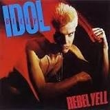 Billy Idol Rebel Yell cover art