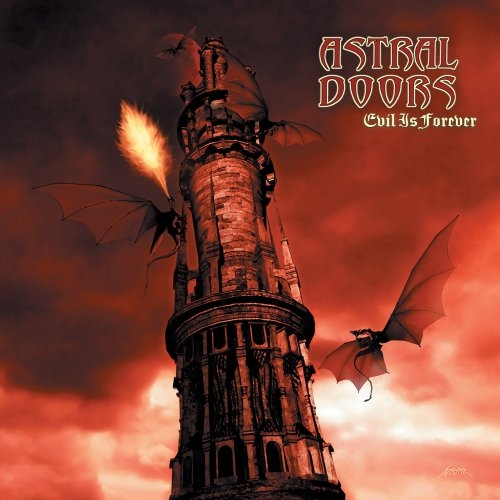 Astral Doors Evil Is Forever cover art