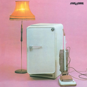 The Cure Three Imaginary Boys cover art