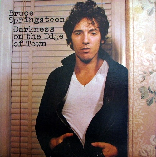 Bruce Springsteen Darkness on the Edge of Town cover art
