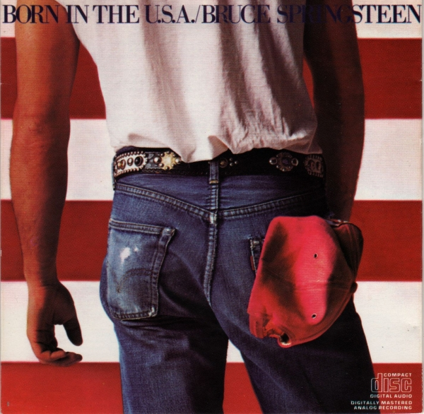 Bruce Springsteen Born in the U.S.A. Cover Art
