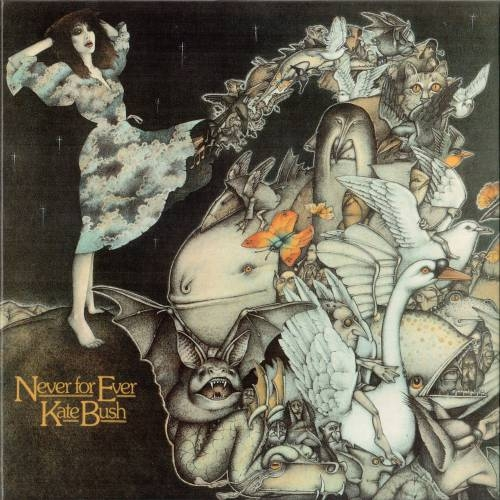 Kate Bush Never for Ever cover art