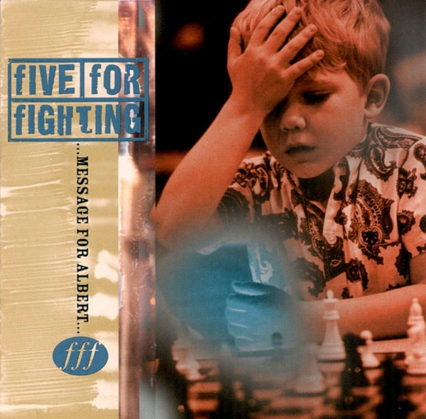 Five For Fighting Message for Albert cover art