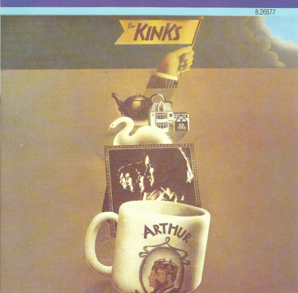 The Kinks Arthur (or The Decline and Fall of the British Empire) cover art