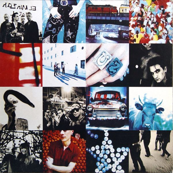 U2 Achtung Baby cover art