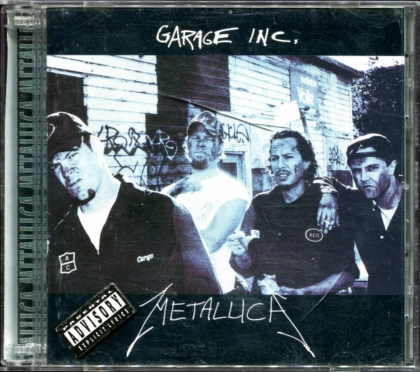 Metallica Garage Inc. cover art