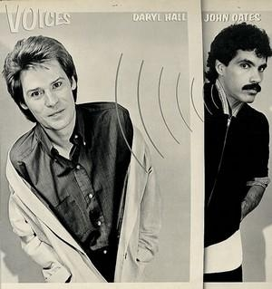 Hall & Oates Voices cover art