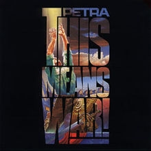 Petra This Means War! cover art