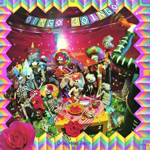 Oingo Boingo Dead Man's Party Cover Art
