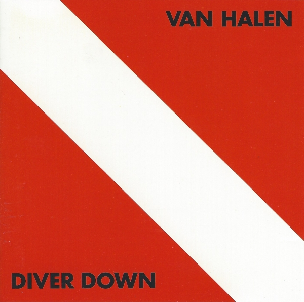 Van Halen Diver Down cover art