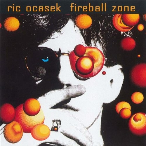 Ric Ocasek Fireball Zone cover art