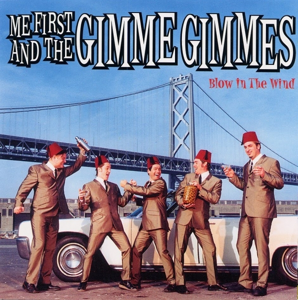 Me First and the Gimme Gimmes Blow in the Wind cover art