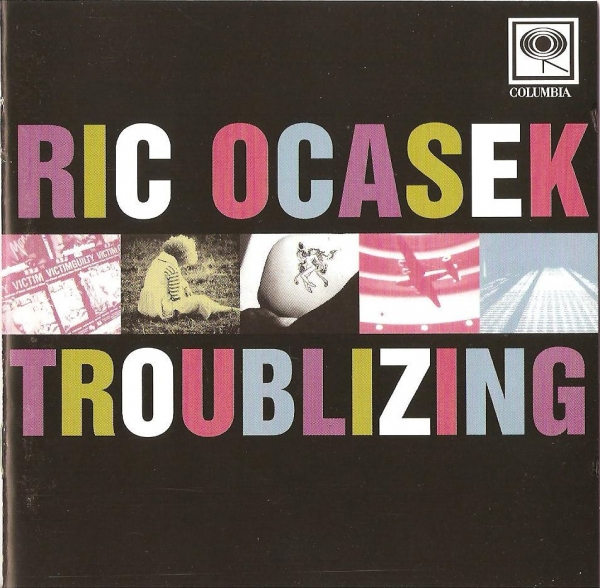 Ric Ocasek Troublizing Cover Art