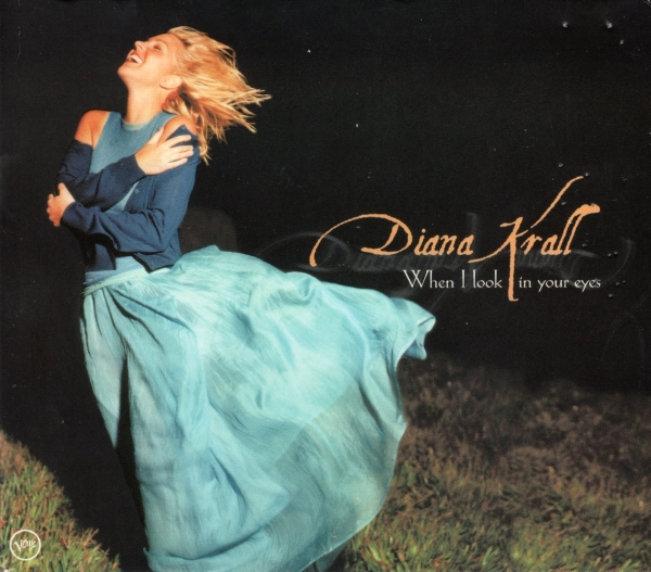 Diana Krall When I Look in Your Eyes cover art