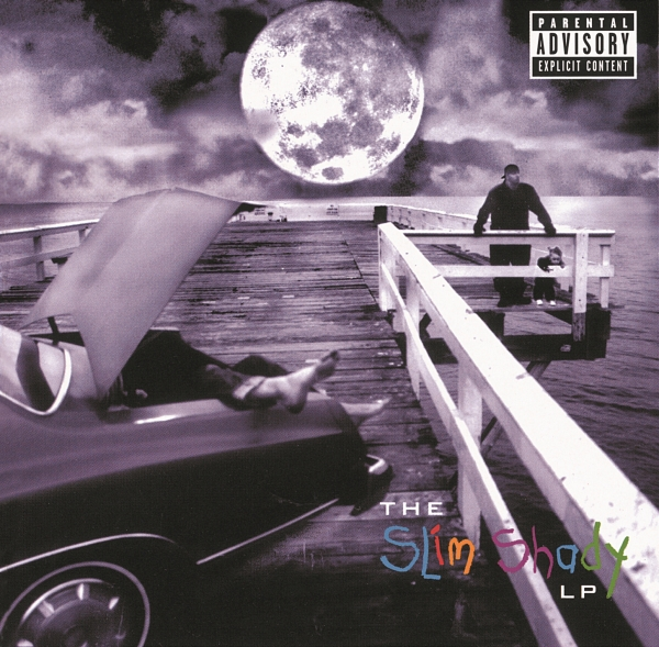 Eminem The Slim Shady LP cover art
